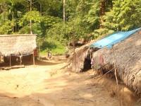Original people living a simple life in Taman Negara
