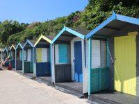 Beach huts at Swanpool