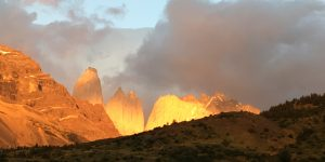 Torres del Paine: the clue is in the name