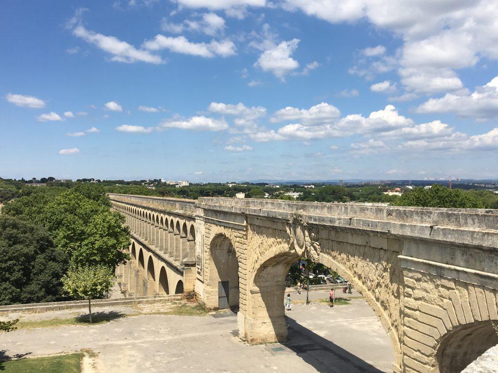 Aqueduc Saint-Clément, Montpellier