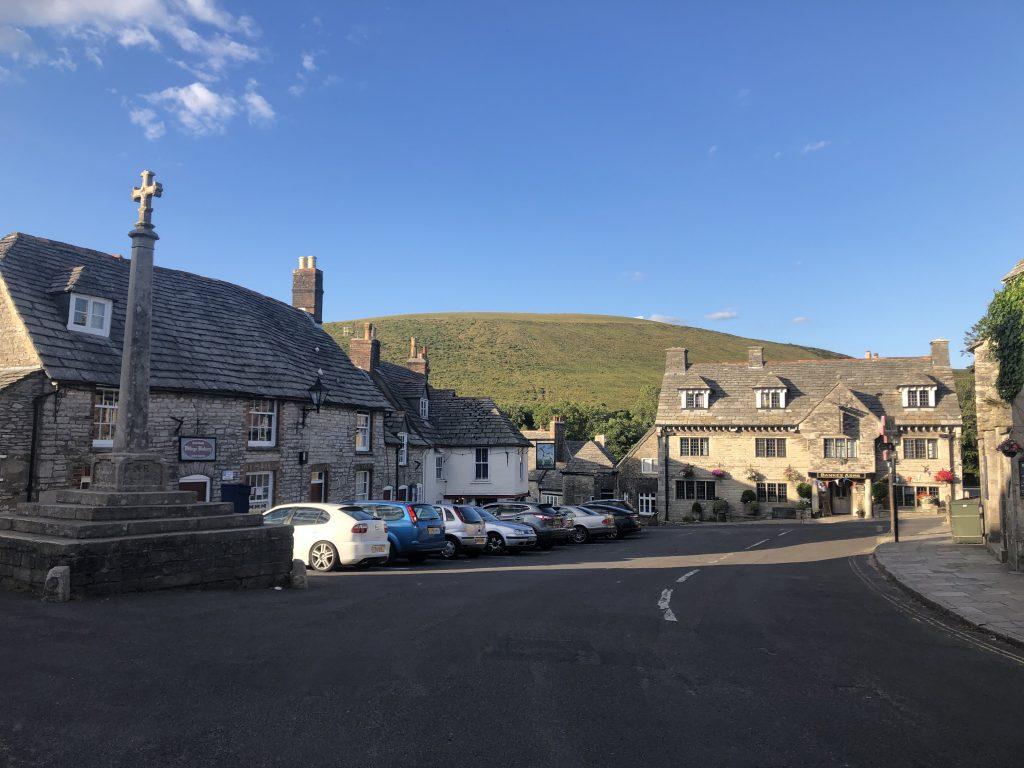Corfe Castle square