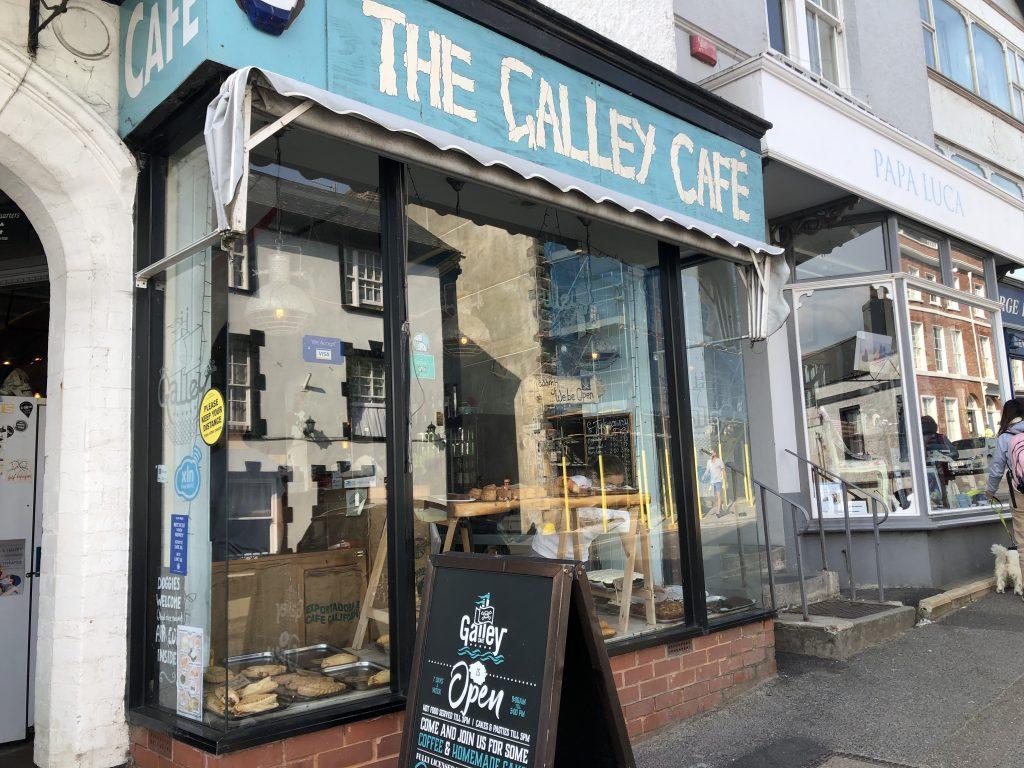 Galley Cafe, Lyme Regis