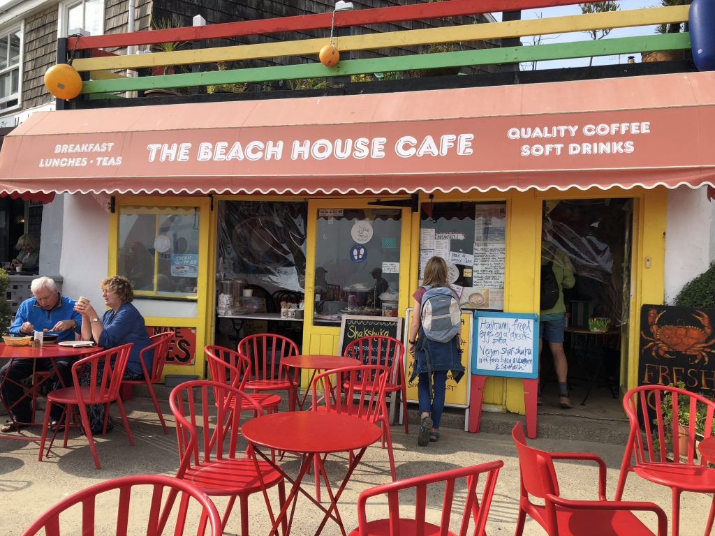 Beach House Cafe, Lyme Regis