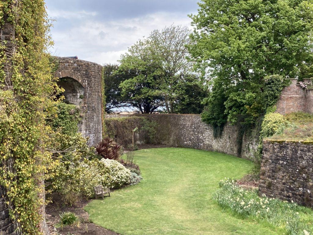 Walmer Castle moat
